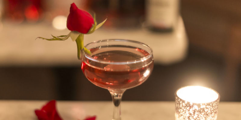 Feature image for the collection: Valentine's Day Cocktails