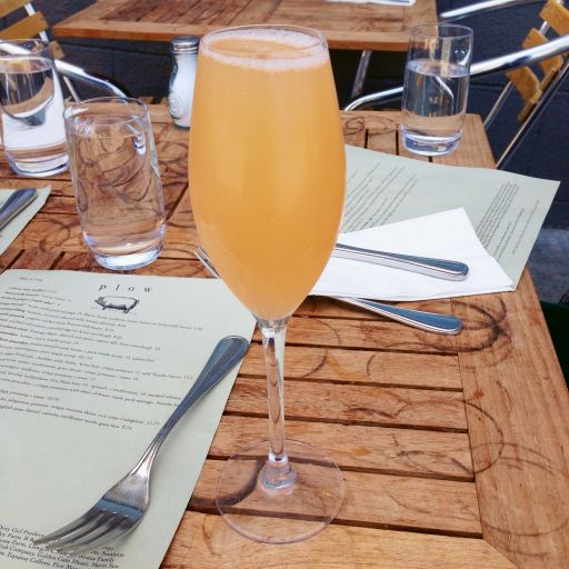 Passionfruit Mimosa
