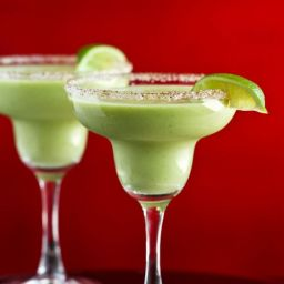 Kicked-Up Avocado Margarita