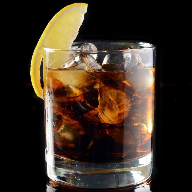Whiskey and Coke Recipe | Bevvy