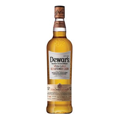 Dewar's Scratched Cask White Label