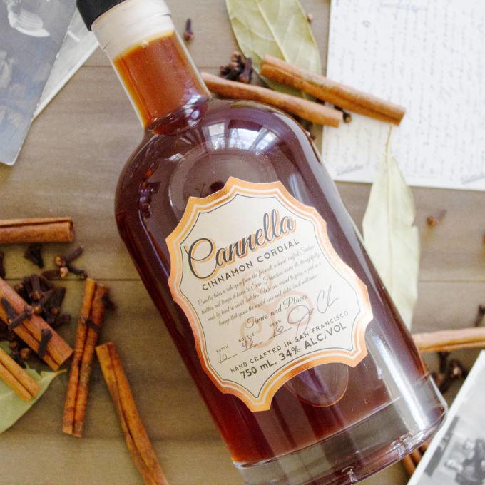 Cannella Cinnamon Cordial Cinnamon Liqueur Bevvy