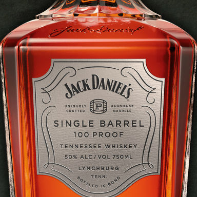 Jack Daniel's Single Barrel 100 Proof Tennessee Whiskey