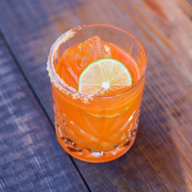 Spiced Carrot Margarita | Bevvy