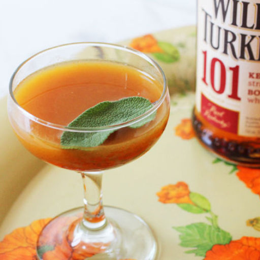 Turkey and Sage Cocktail