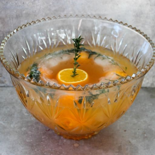 Christmas Bourbon Punch