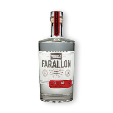 Coastal Spirits Vodka Farallon
