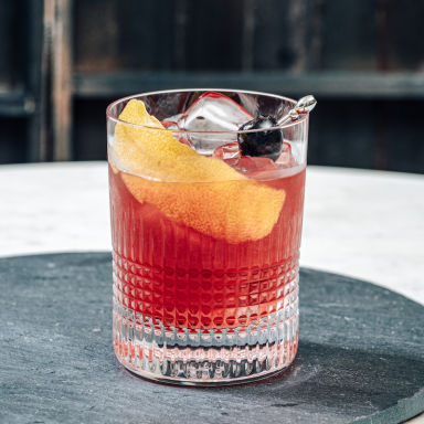 Cherry Smash Cocktail | Bevvy