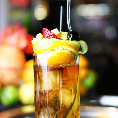 Bourbon O Bar Pimm's Cup