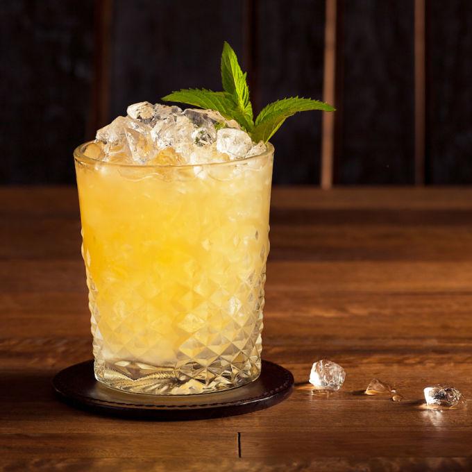 Whiskey Smash Recipe Bevvy