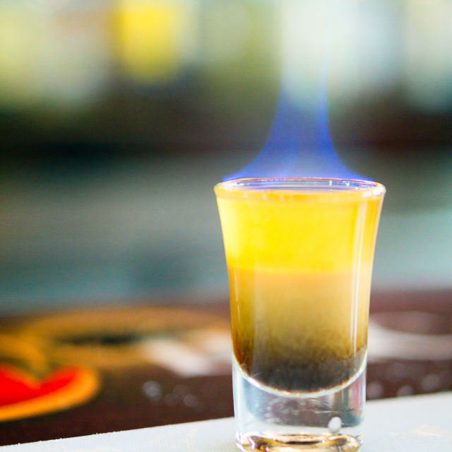 Flaming B-52 Recipe